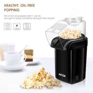 Le distributeur de pop corn Aicok