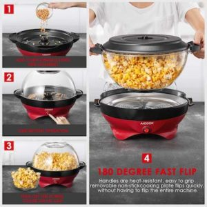 Popcorn maison avec l'appareil Aicook