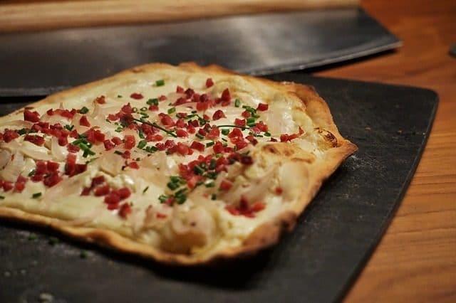 Recette pizza façon flammekueche