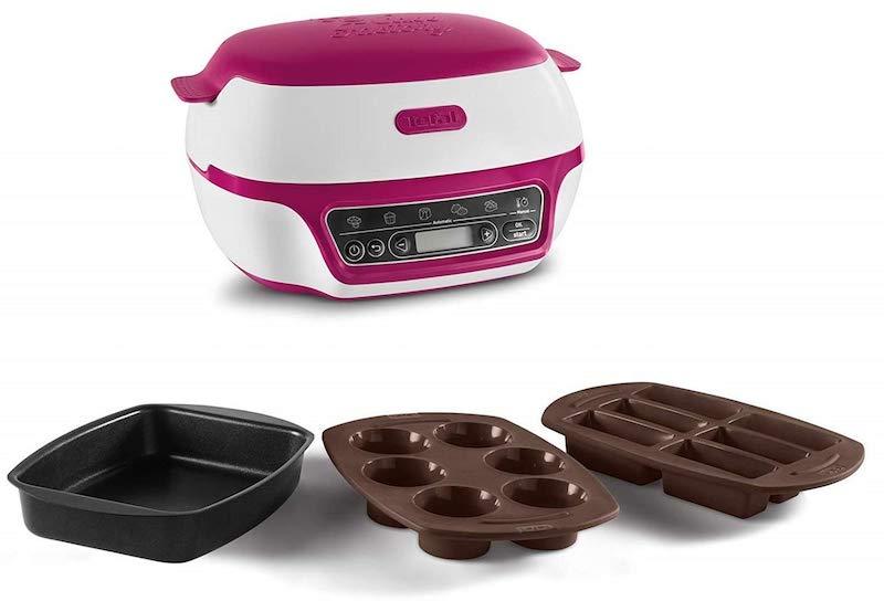 Les moules fournis avec cette machine à gâteaux