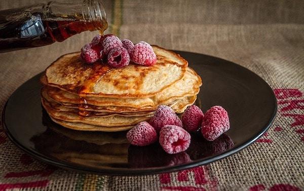 La crêpière Lagrange Duo permet de réaliser des pancakes