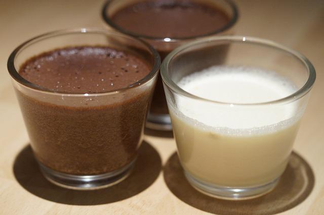 Recette de panna cotta au chocolat ou nutella