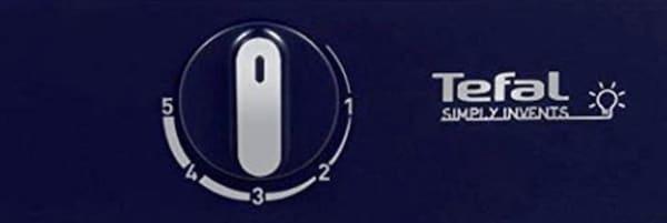 Le thermostat réglable de la crêpière Tefal Dual