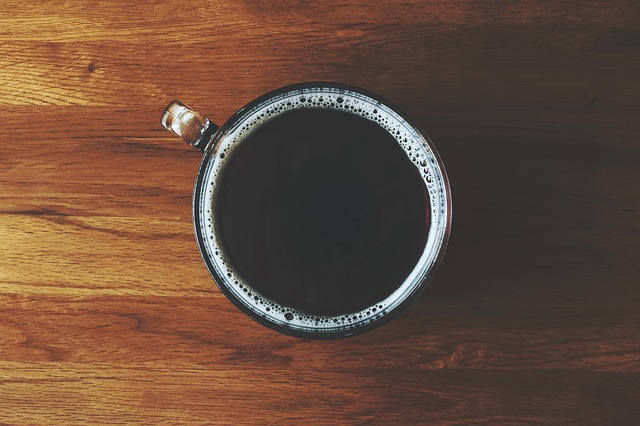 Un café préparé avec la Bialetti Mocha