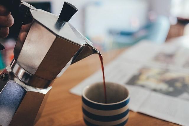 Utilisation de la cafetière Bialetti Moka