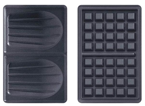 Les plaques croques et gaufres du Tefal Snack Time