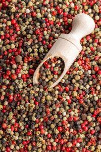 Des grains de poivre