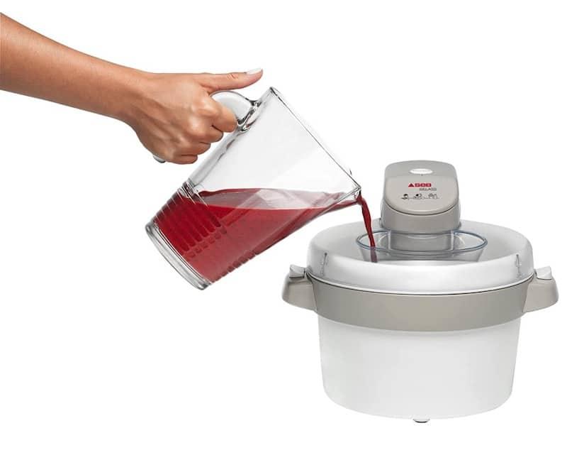 Utilisation de la sorbetière électrique seb