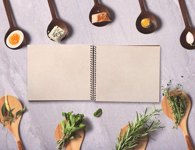 Livre de recettes de cuisine