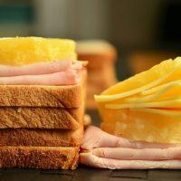 Croque-monsieur jambon et fromage