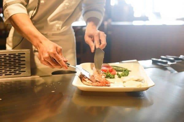 Matériel de cuisine pour un restaurant
