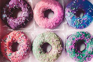 Donuts multicolores