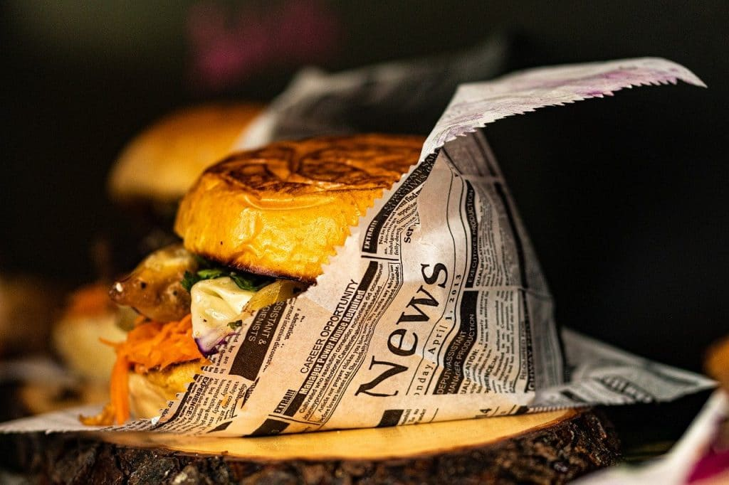 Emballage écolo pour burger