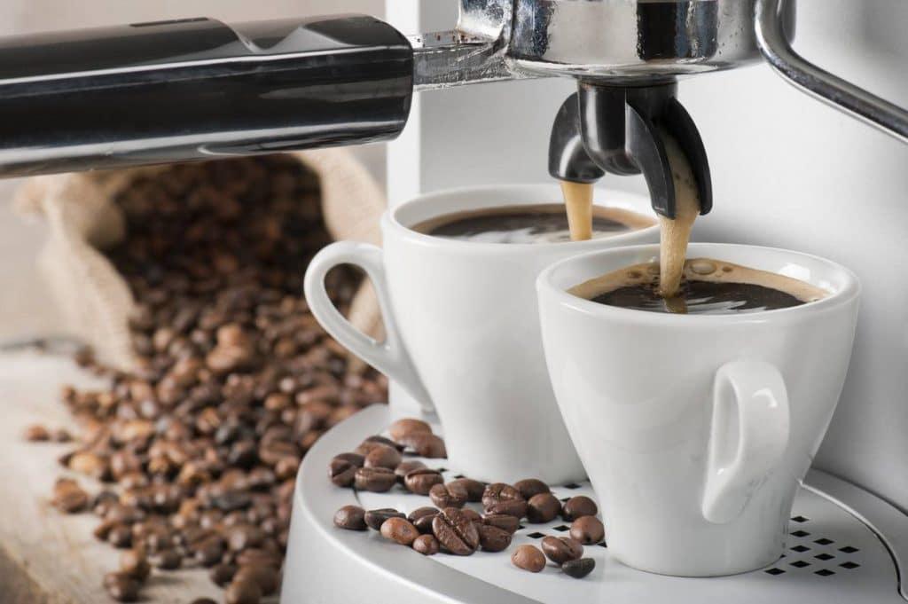 Un double espresso
