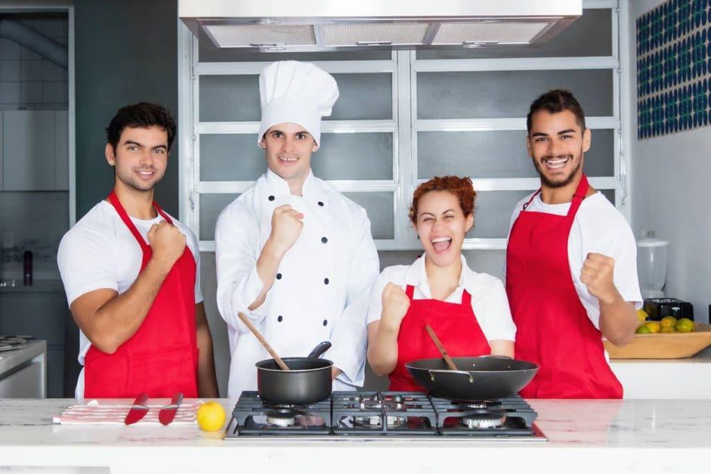 Equipe de cuisiniers