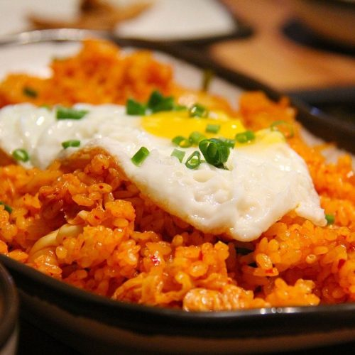 Riz sauté au kimchi