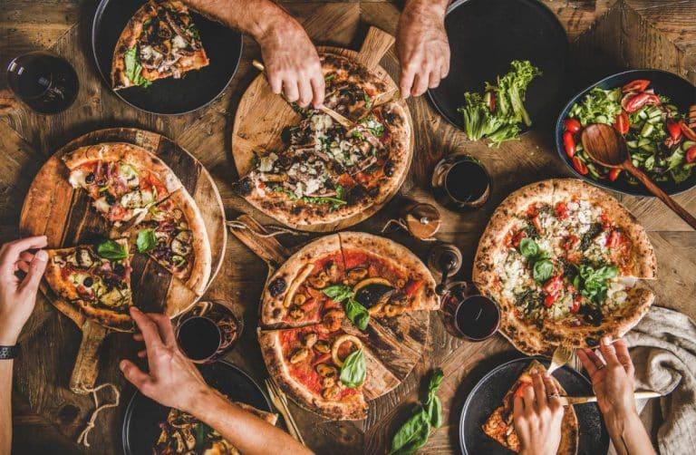 Soirée pizzas sucrées et salées