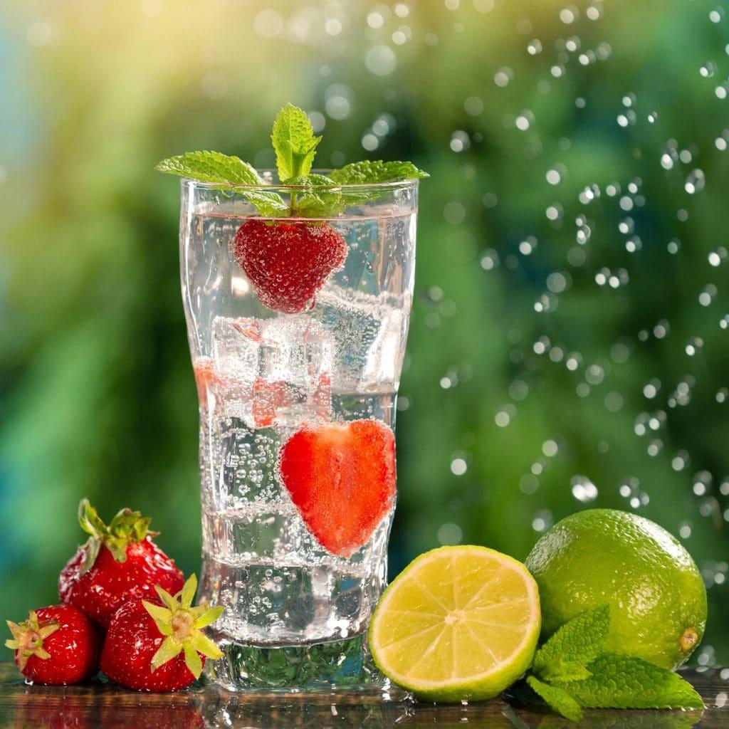 Soda maison aux fruits