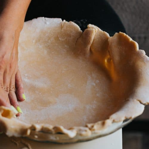Cuisson fond de tarte