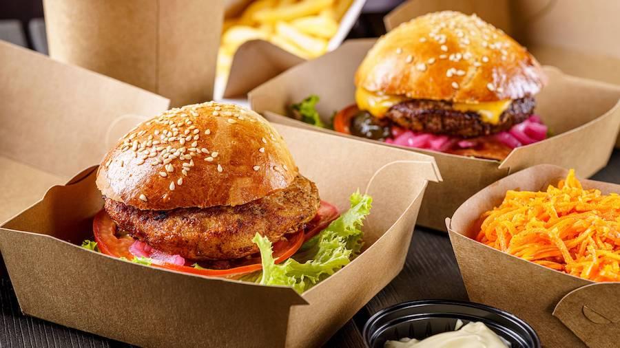 conservation repas plat à emporter emballage contenant