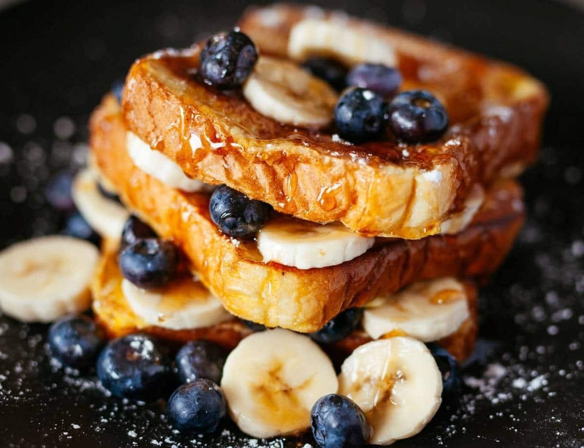 Dessert à la banane