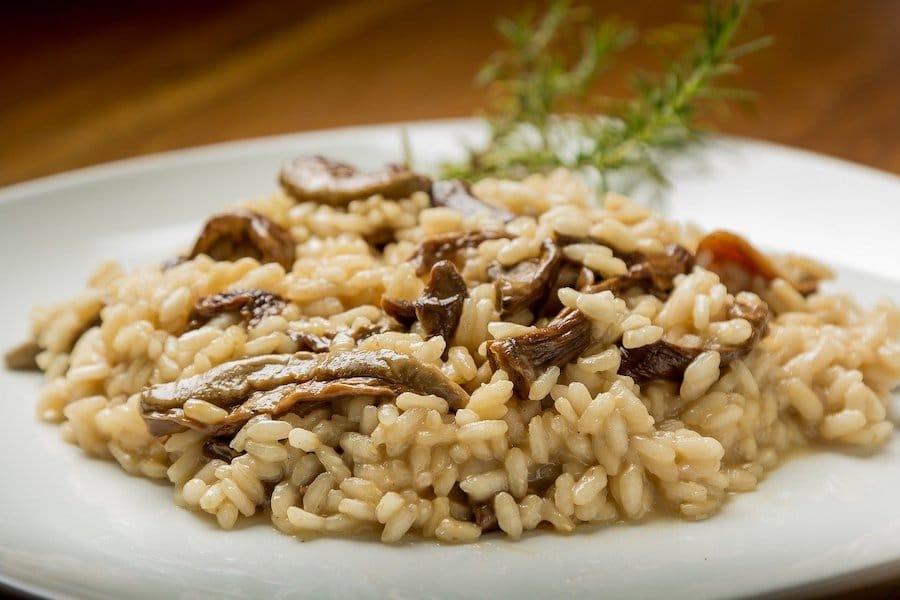risotto champignons au cookeo