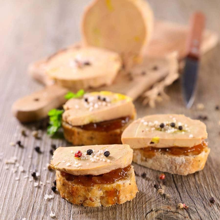 idées apéritif foie gras
