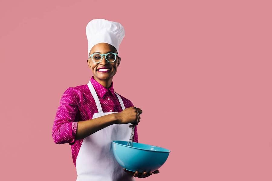 tablier cuisinière