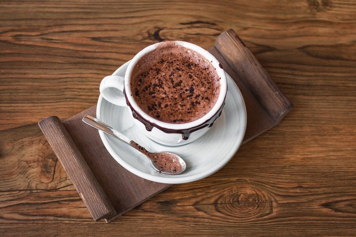 Chocolat chaud fait maison
